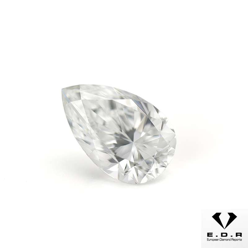 Fancy Pear Shaped Diamond 1.01ct D/VVS1
